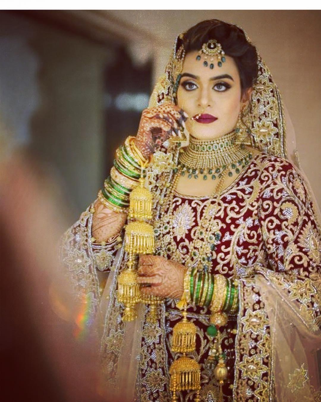 Arabic Muslim Wedding Makeup look by Tejaswini Makeup Artist Pune.jpg