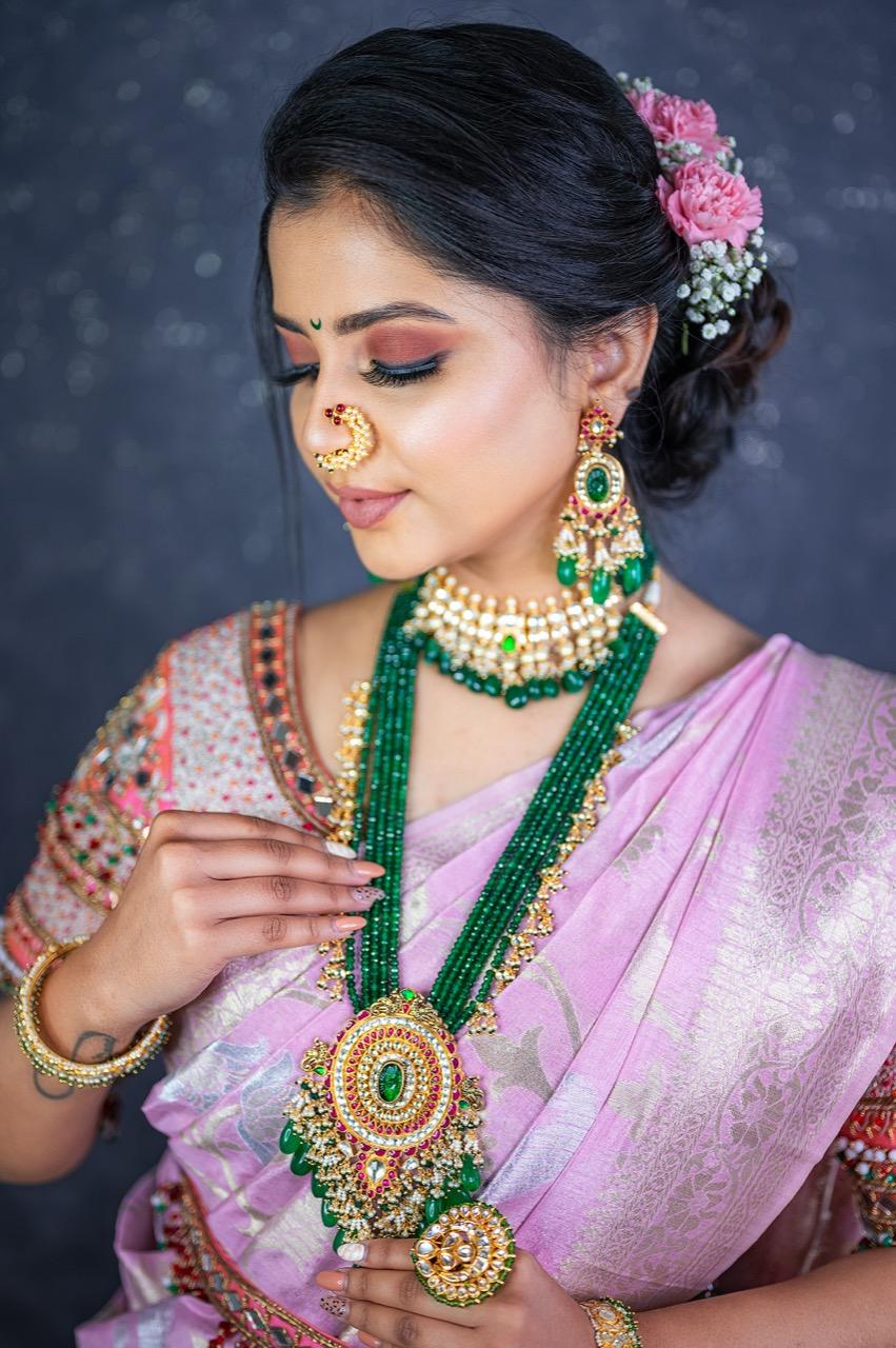 Best Maharashtrian Bridal Makeup Pune Mumbai