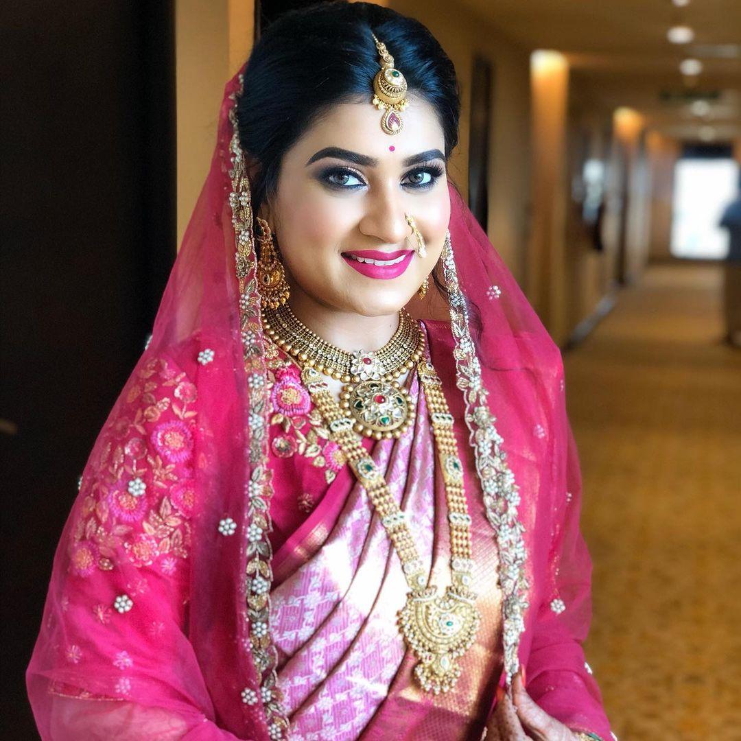 Marashtrian Destination Wedding At Tirupati - Bridal Makeup By Tejaswini