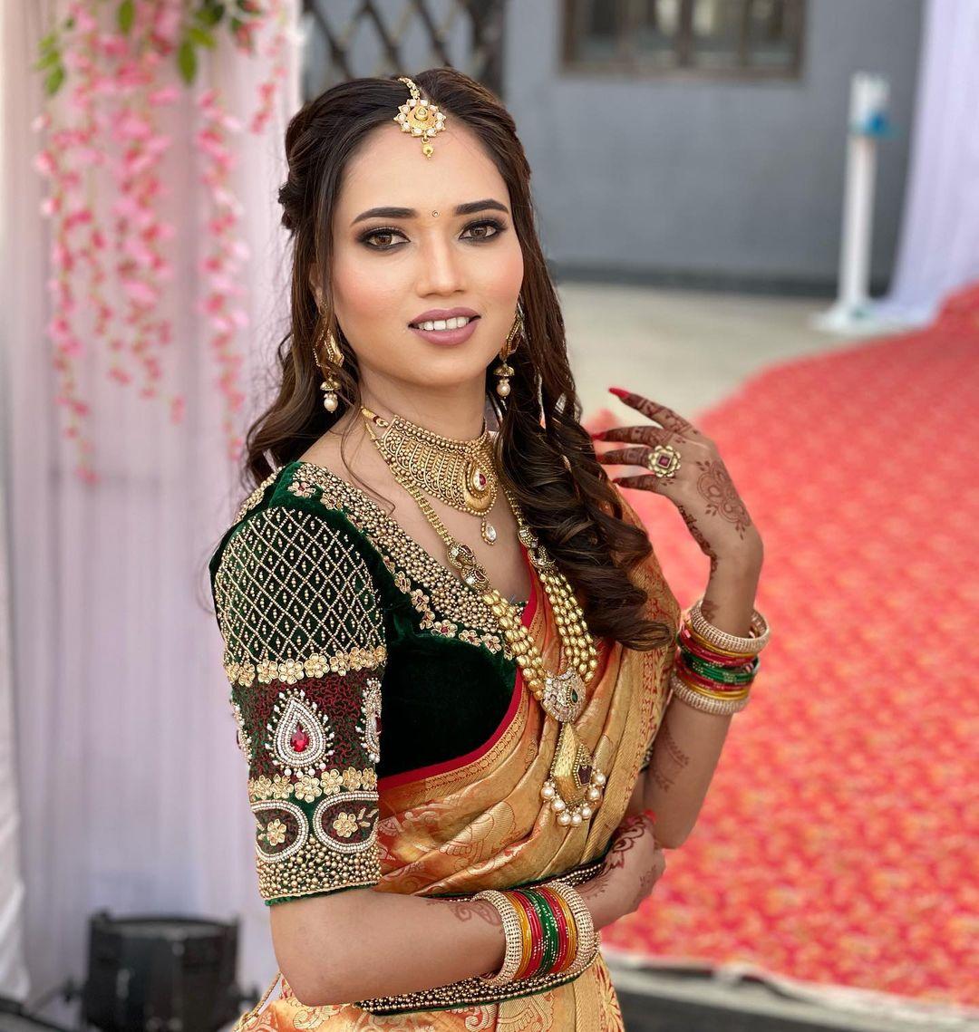 Marathi Bridal makeup Tejasiwni Pune Mumbai