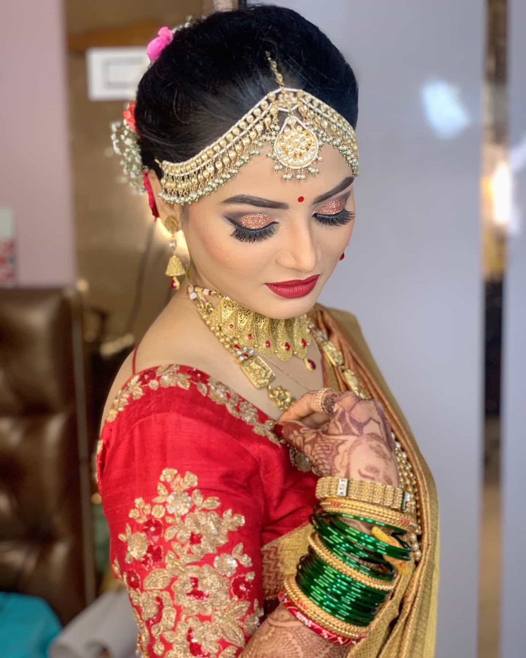 Marathi South India Bride Makeup By Tejaswini