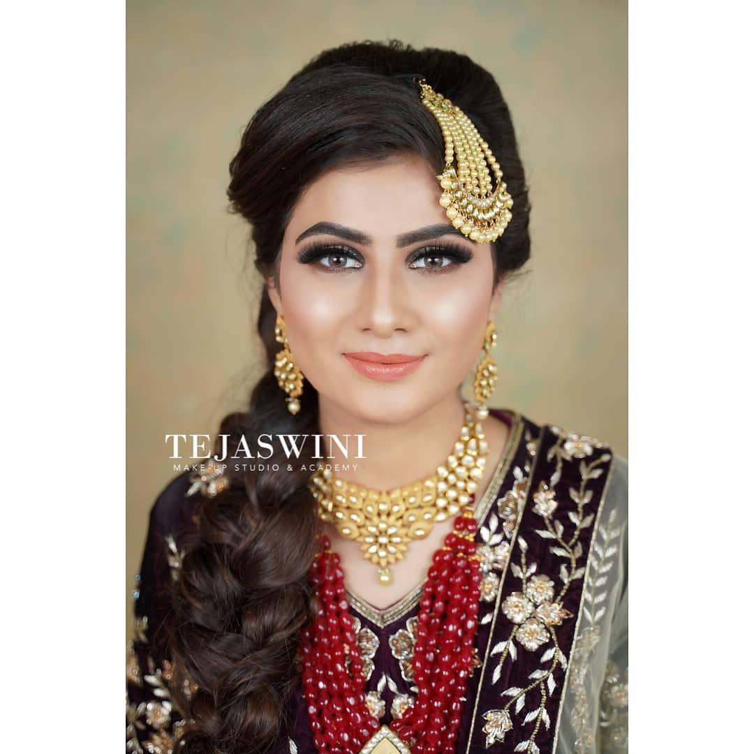 Muslim Brial Makeup by Tejaswini