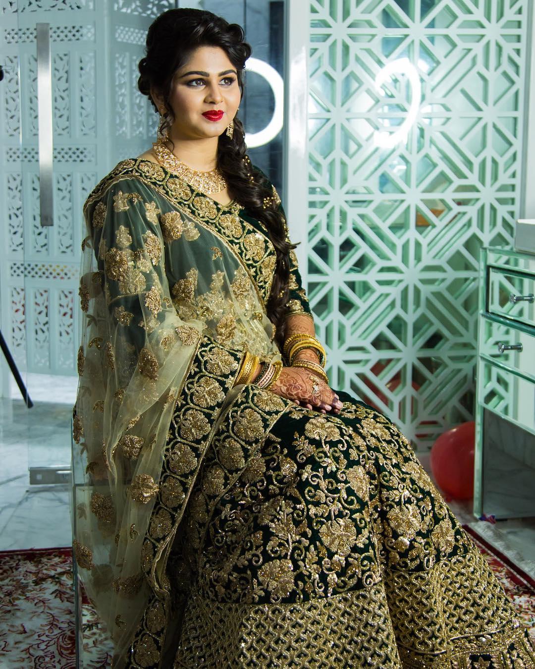 Muslim Wedding Makeup look by Tejaswini Makeup Artist Pune