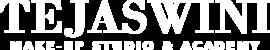 Tejaswini Makeup Artist White Logo