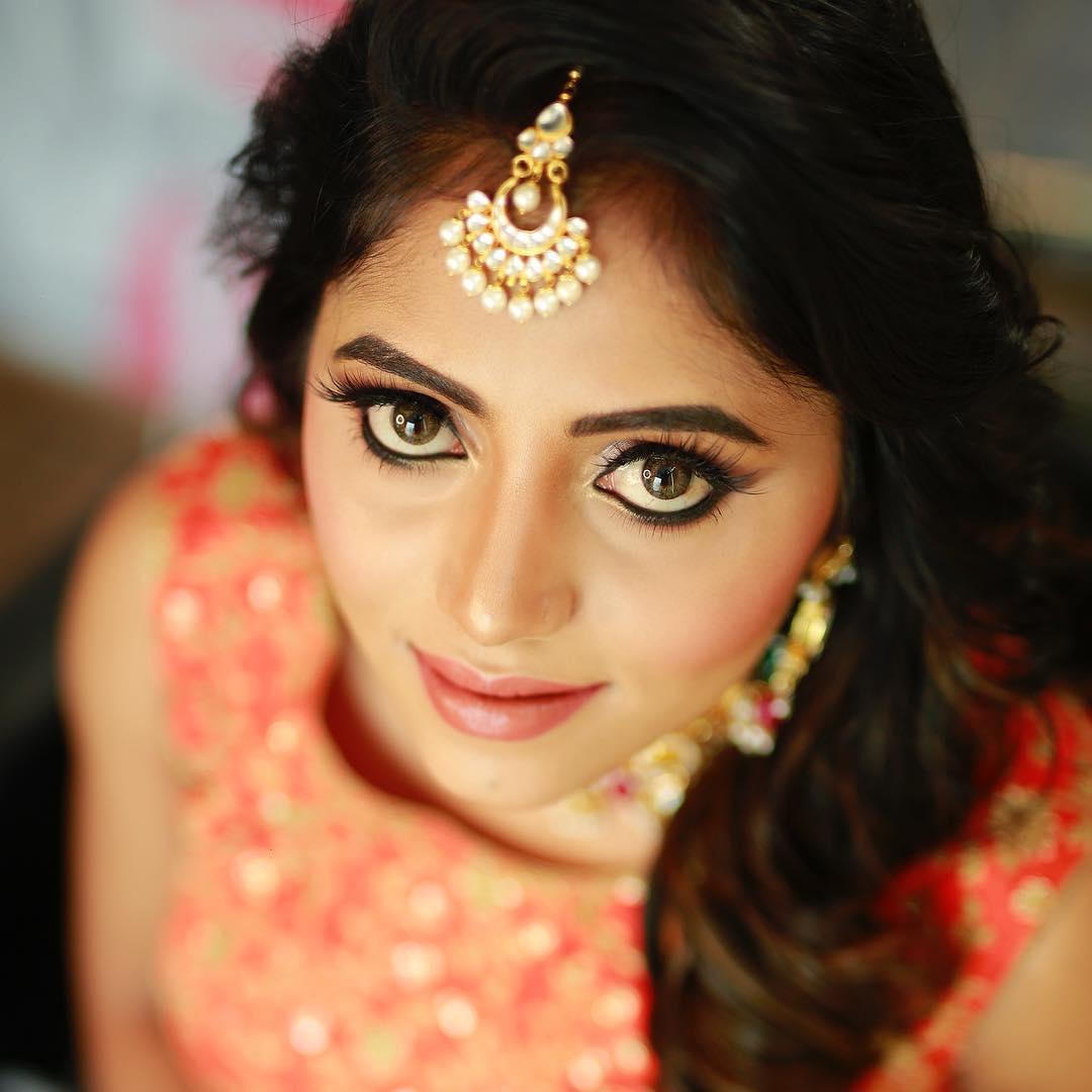 Indian Reception Engagement Makeup Look By Tejaswini Makeup Artist Pune