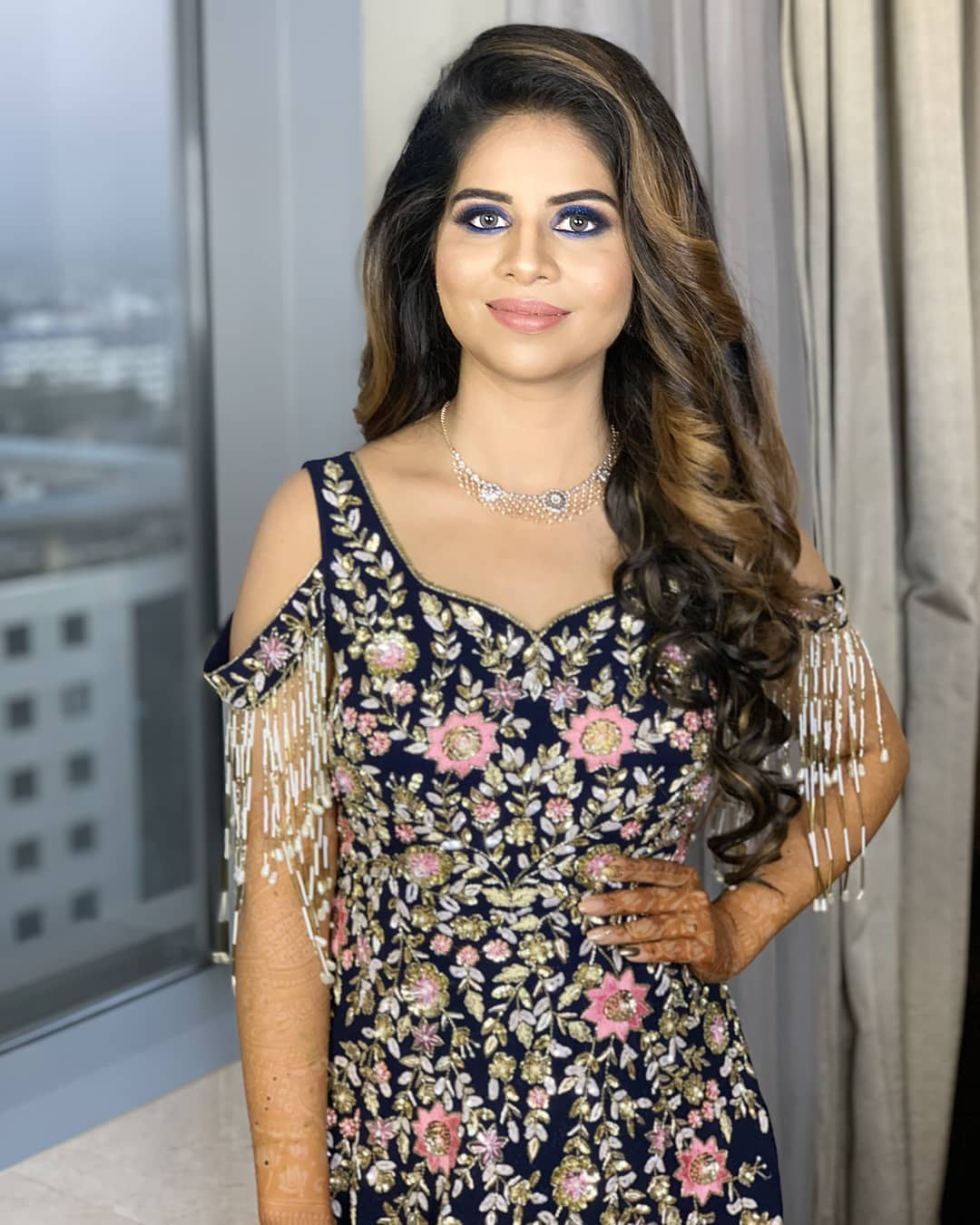 North Indian Reception Engagement Makeup By Tejaswini