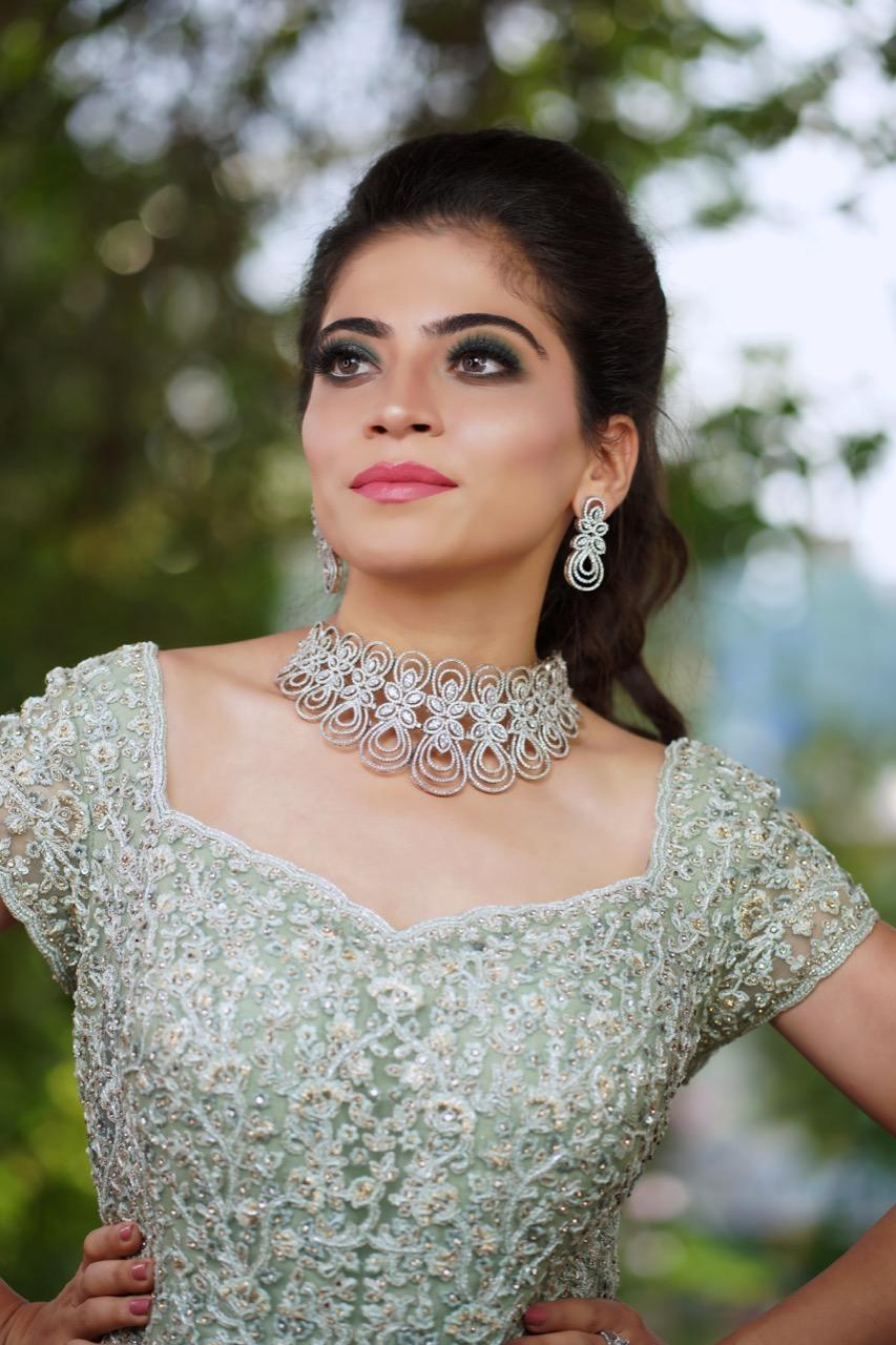 Trendy Reception Engagement Look India Bride