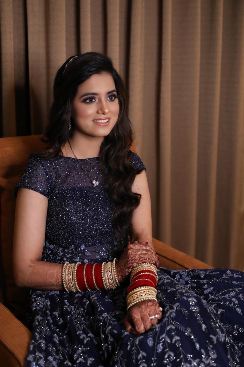 Indian Engagement Makeup